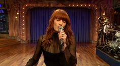 florence and the machine on jimmy fallon