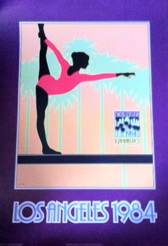 Another LA Olympics poster