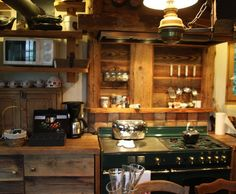 1000 images about chalet on pinterest chalets cuisine and deco cuisine - Deco cuisine rustique ...