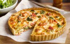 Киш с лососем и брокколи - французская закуска с божественным ароматом!