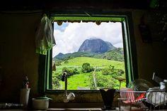 Aiuruoca (MG) - Serra do Papagaio ao fundo - Foto: Gilney Fernandes # Minas Gerais # Brasil # Rural