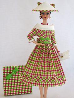 "Handmade Vintage Barbie/Silkstone Fashion by Roxy-""PICNIC IN THE PARK"" -10pcs | eBay"
