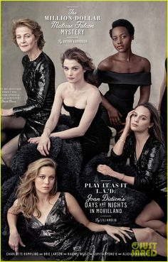 Jennifer Lawrence and 12 other legendary and breakout actresses take the cover of Vanity Fair's Hollywood issue.  The 22nd annual cover feature highlights some of Hollywood's powerhouse women including Jane Fonda, Cate Blanchett, Viola Davis, Charlotte Rampling, Brie Larson, Rachel Weisz, Lupita Nyong'o, Alicia Vikander, Gugu Mbatha-Raw, Helen Mirren, Saoirse Ronan, and Diane Keaton.