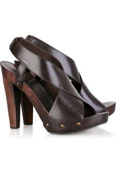 47067d74710 Diane von Furstenberg - Flynn leather platform sandals