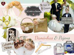 Dicas de lembrancinhas, porta alianças, plaquinhas, acessórios e muito mais para as fofuras que encantam e trazem tanta alegria ao casamento: Daminhas & Pajens! #daminhas #pajens #lembrancinhas #convite #mooddasemana #moodndl #noivinhasdeluxo #achadosqueamamos