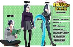 My Hero Academia 2, My Hero Academia Episodes, Hero Academia Characters, Anime Characters, Oc Manga, Anime Oc, Super Hero Outfits, Super Hero Costumes, Hiro Big Hero 6