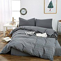 Hypoallergenic Bedding - Hypoallergenic / Bedding: Home & Kitchen Brushed Cotton Bedding, Cotton Bedding Sets, Men's Bedding, Luxury Bedding, Bed Duvet Covers, Modern Luxury, Queen Size, Home Kitchens, Decorative Pillows
