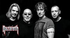 Nazareth are a Scottish hard rock band formed in 1968 that had several hits in the United Kingdom in the early and established an international audien Greatest Rock Bands, Greatest Hits, Kinds Of Music, My Music, Nazareth Band, Rock Internacional, Air Festival, Rock Artists, Rock Of Ages