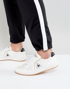 Le Coq Sportif Icons Lea Sport Sneakers With Gum Sole In White 1720103
