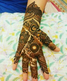 5,668 Likes, 13 Comments - Mehandi designs (@awesomemehandi) on Instagram