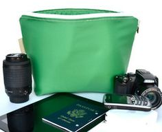 Martha's Vineyard - Zipper top Camera bag insert