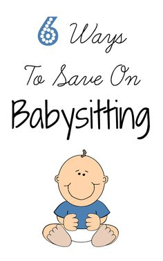 We're always looking for ways to save on babysitting in our family of 7.  Here are 6 ways you can save on babysitting.