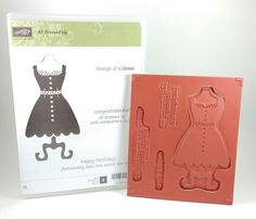 Stampin Up ALL DRESSED UP Clear Mount Stamp Set  #StampinUp
