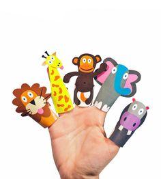 #Zoo #animals craft iadea fir kids.