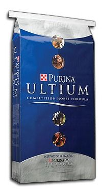 Purina® Ultium® Competition Horse Formula at Lochte Feed and General Store. lochtefeed.com