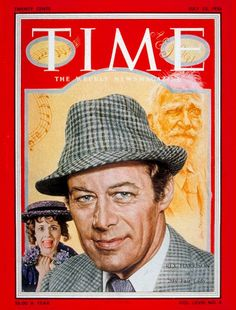 "Rex Harrison, Tony Award winner for Best Performance by an Actor in a Musical, ""My Fair Lady,"" 1957 Hollywood Actor, Classic Hollywood, My Fair Lady Musical, Tony Award Winners, Magazin Covers, Mystery Series, Old Magazines, Time Magazine, Famous Men"