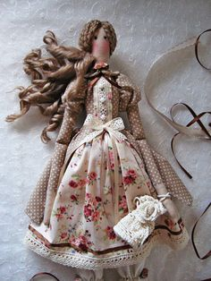 Tilda doll/ Handmade fabric doll/ Tilda fabric doll / Tilda