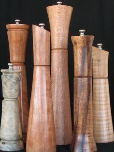 Exotic Wood Pepper Mills
