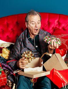 "BILL MURRAY — billmurrayandme: ""Christmas was just waking up..."