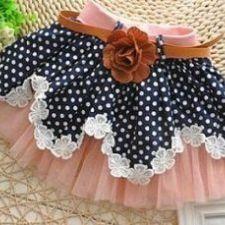 Sewing for kids skirt tutus 70 Super ideas Fashion Kids, Pet Fashion, Baby Skirt, Baby Dress, Ruffle Skirt, Sewing For Kids, Baby Sewing, Little Girl Dresses, Girls Dresses