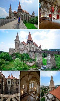 Corvin Castle is a stunning example of Transylvania's historic landmarks.