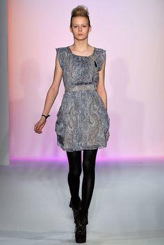 Abaeté Fall 2009 Ready-to-Wear Fashion Show - Barbora Dvorakova