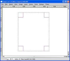 Folded Paper Tip | Gimp-tutorials.net - Gimp , tutorials , brushes , downloads, forum.