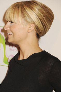Nicole Richie French Twist,  #french #nicole #richie #twist,  #Frenchtwisthair, French twist hair, Braided Chignon, Chignon Hair, French Twists, French Twist Hair, Messy Braids, Crown Braids, Hair Romance, Pinterest Pin, Nicole Richie