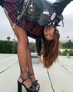 Plaid Outfits, Cute Outfits, Devon Carlson, Devon Lee, Teenage Dirtbag, Punk Princess, Street Style, Aesthetic Fashion, Cool Girl