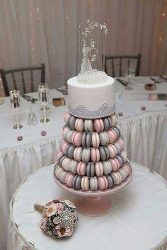 39 Romantic Grey And Pink Wedding Ideas   HappyWedd.com