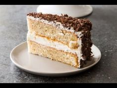 Toasting and then grinding whole hazelnuts into a delicate flour gives this cake its nutty yet nuanced flavor, and folding whipped egg whites into the. Hazelnut Recipes, Hazelnut Cake, Vanilla Cake, Cake Recipes, Weekend Recipe, Toast, Ethnic Recipes, Desserts, Food