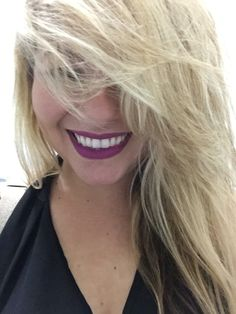 Blonde Hair, Heroin MAC Lipstick