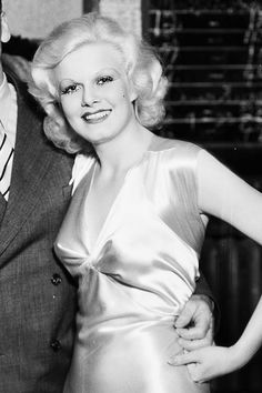 """35906a0b9 barbarastanwyck  """"Jean Harlow during the filming of Red-Headed Woman"""