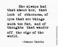Greatness quote-Joanne Harris by krystal357