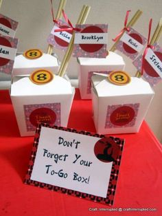 Lego Ninjago, Ninja Birthday Party Ideas | Photo 10 of 37 | Catch My Party