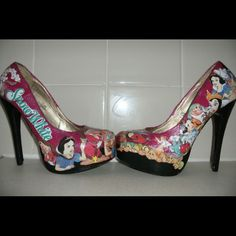 Snow White shoes ... My heaven x