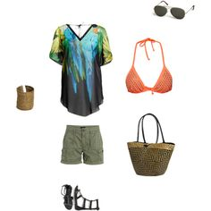 """Casual summer"" by kaczusna on Polyvore"