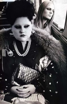 Beth Ditto & Blake Kuchta by Steven Klein for POP Magazine Fall/Winter 2007.