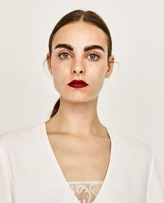 CONTRAST TOP-Blouses-TOPS-WOMAN | ZARA United States