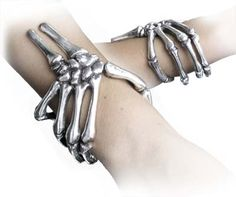 Skeleton Hand Bracelets.