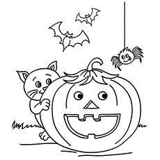 halloween ausmalbilder zum ausdrucken | ausmalbilder für kinder | halloween ausmalbilder