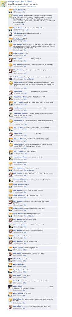 Fruits Basket FB: Bed Jumpin by FruitsBasketFacebook.deviantart.com on @deviantART