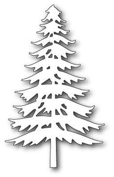 Memory Box - Craft Dies - Marvelous Pine Now Available at The Rubber Buggy Pine Tree Silhouette, Silhouette Curio, Silhouette Cameo Projects, Rock Crafts, Metal Crafts, Paper Crafts, Diy Crafts, Christmas Signs, Christmas Crafts
