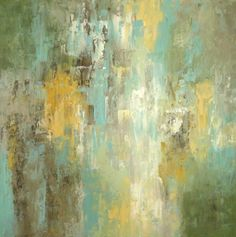 """ORIGINAL Abstract Painting """"Morning Rain"""" modern art / canvas / abstract expressionism / fine art / Parker Westwood / Etsy"""