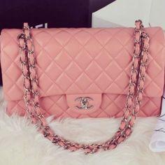 #chanel #handbag #pink #purse