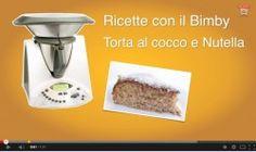 Torta Nutella E Cocco Bimby