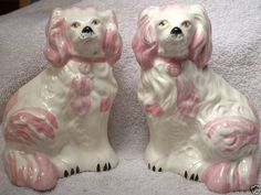 old english staffordshire pink mantle dogs