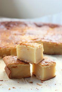 Vanilla Mochi Cake