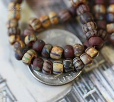 African trade beads?