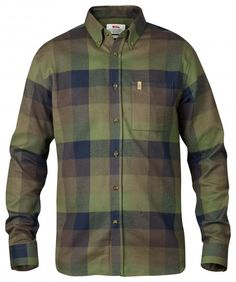Fjällräven - Övik Big Check Shirt LS